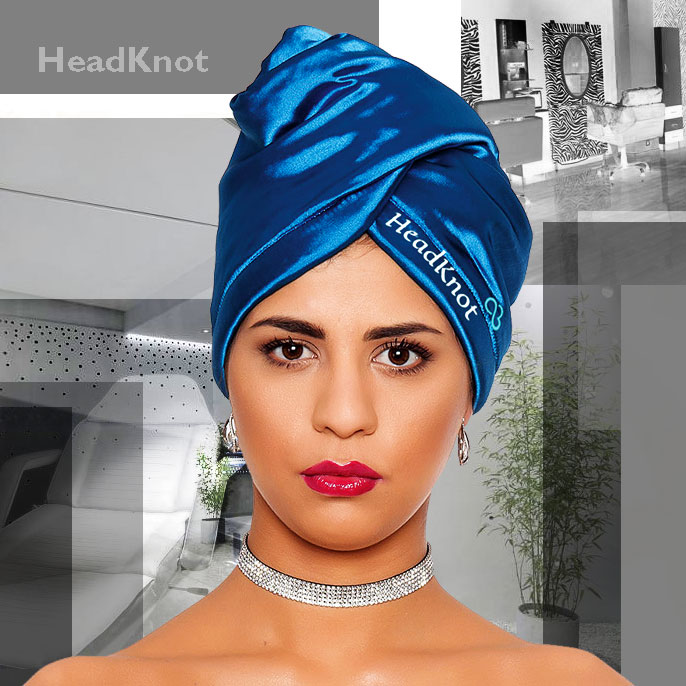 тюрбан кърпа за коса