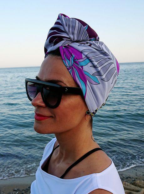 Aksesoar-Kosa-Summer-Kyrpa-Turbanl-Purple-flora