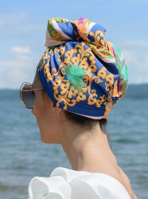 Кърпа за подсушаване на коса тюрбан Baroque