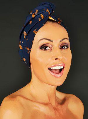 Аксесоар за глава тюрбан за коса Africa Style