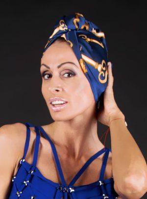 кърпа за подсушаване на коса тюрбан Alice