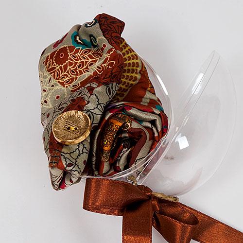 Опаковки Яйце Сфера Тюрбан Кърпа Подсушаване HeadKnot