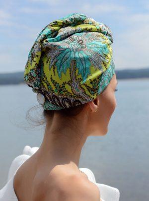 Кърпа за подсушаване на коса тюрбан Spirit of Life