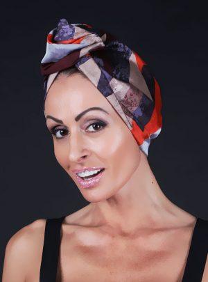 Кърпа за подсушаване на коса тюрбан Simetric