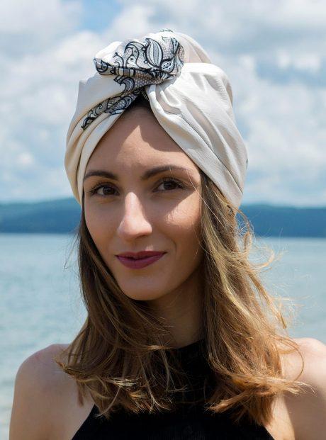 Turban-Aksesoar-Karpa-Lux-Sea-Style-Black-Lace