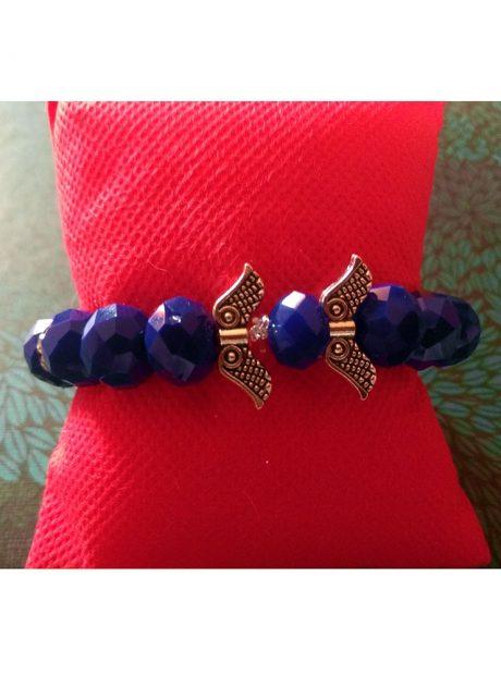 Bracelet-beads-metal-elements-Angels
