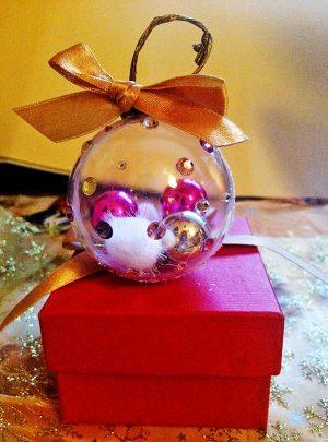 Коледна Топка за Елха Украса Подарък