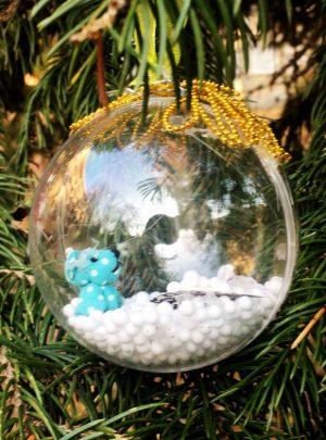 Уникална Коледна Топка Little Bear