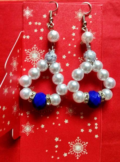 Earrings-Viena-gentle-blend-of-pearls-and-beads