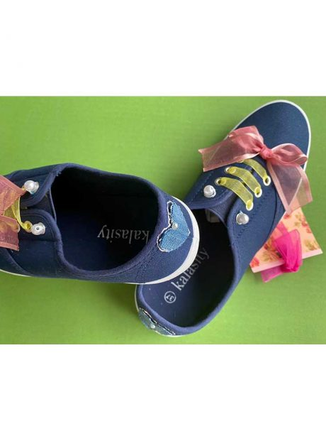 Hand-painted-sneakers-Headknot-blue