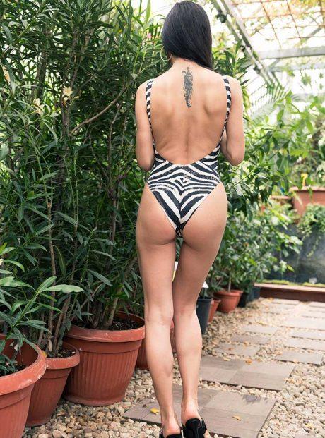 Onepiece-Swimsuit-Zebra-Print-Tessa-Headknot