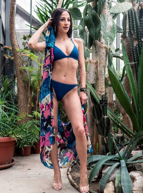 Swimsuit-Sea-Banski-Royal-Blue-Triangle-Tessa-Headknot