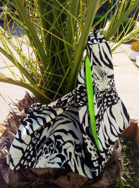 turban-hair-towel-aksesoar-black-white-wild-life