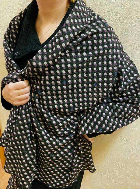 Shal-Dots-Long-Woman-Fashion-Zima-Headknot
