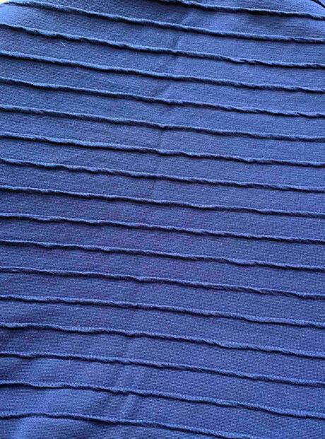 Shal-Woman-Fashion-Style-Blue-Headknot